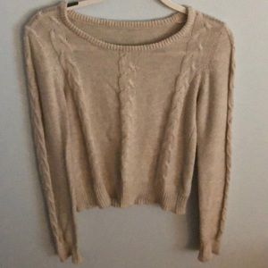 Brandy Melville cable knit sweater